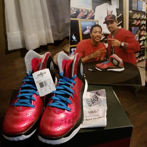Le Adidas Autografata Derek Rose D Rose 5 Impulso Poshmark